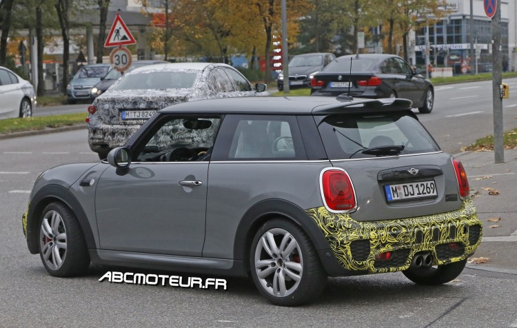 photo espion prochaine Mini Cooper JCW
