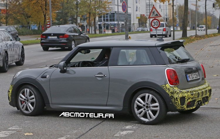 photo volee Mini Cooper JCW