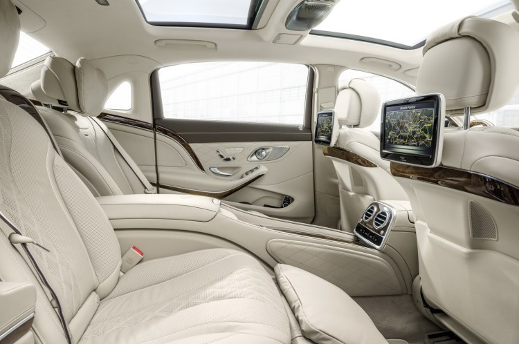 places arriere Maybach-Mercedes-Classe S