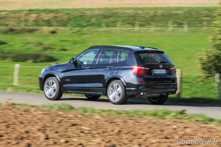 roulage BMW X3 xDrive 35d restyle