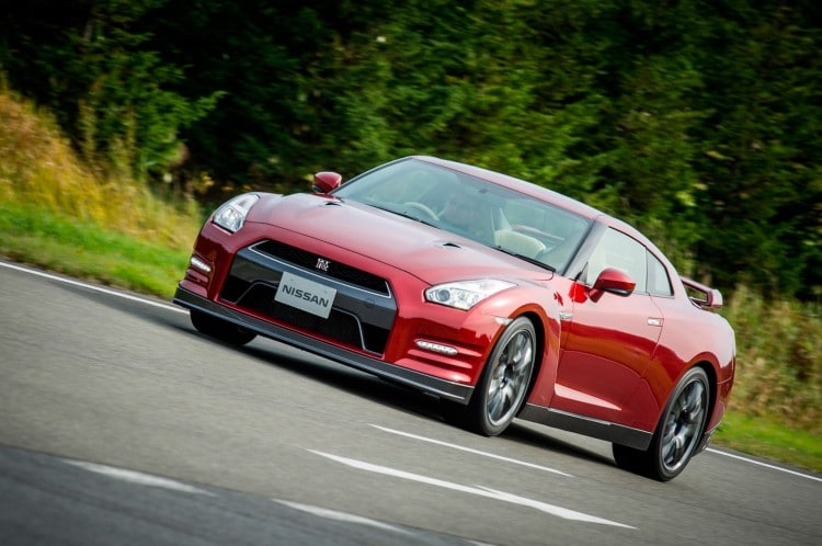 roulage Nissan GT-R 2015