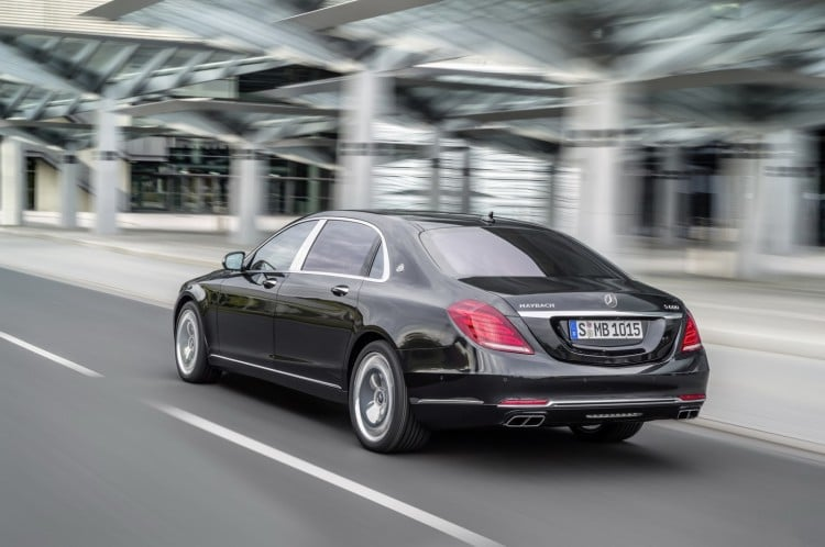 vue 3-4 arriere Maybach-Mercedes-Classe S