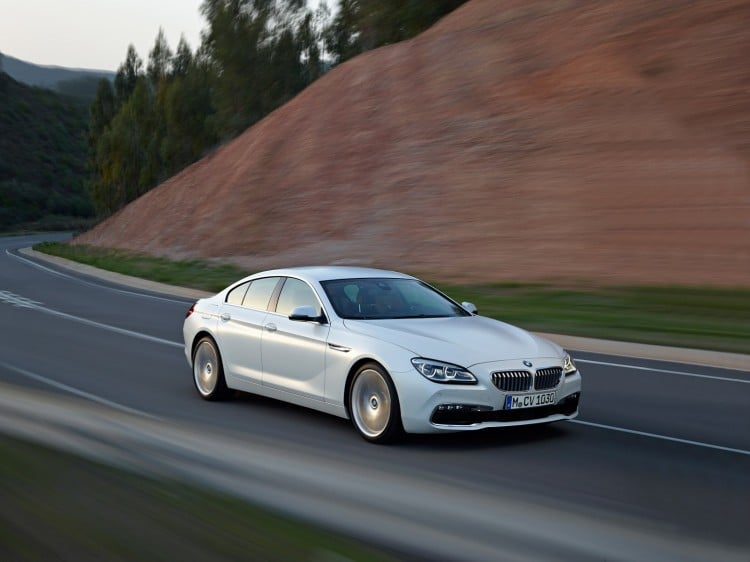 BMW Serie 6 Gran Coupe restylee