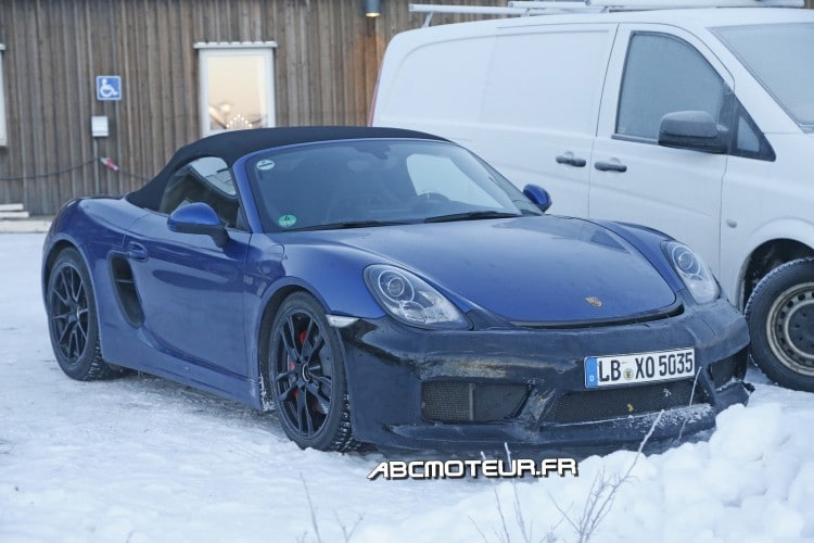 Boxster GT4 2015