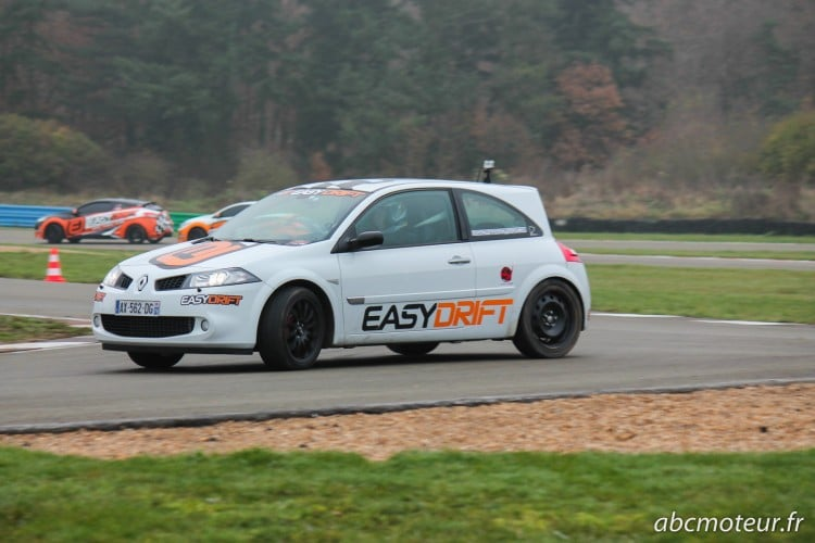 Megane 2 RS Easydrift circuit Dreux