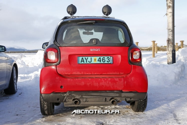 arriere Smart ForTwo Brabus 2015