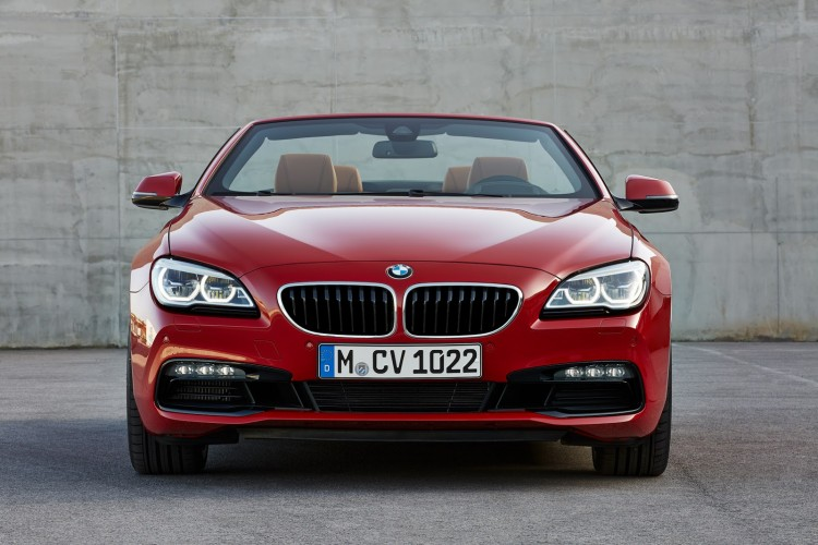 avant BMW Serie 6 Cabriolet restylee