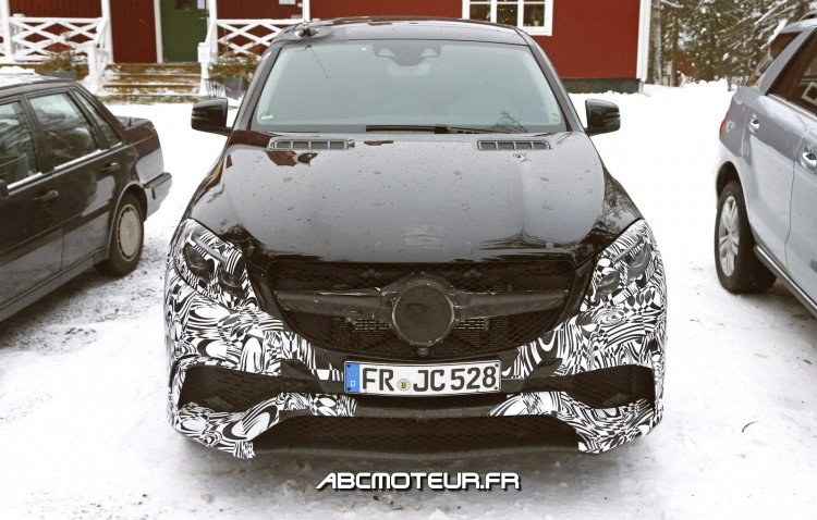 capot Mercedes-AMG GLE 63 Coupe