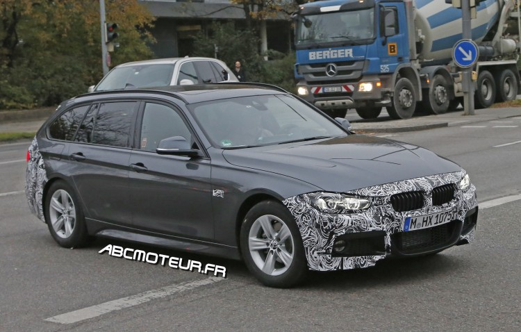 future BMW Serie 3 break