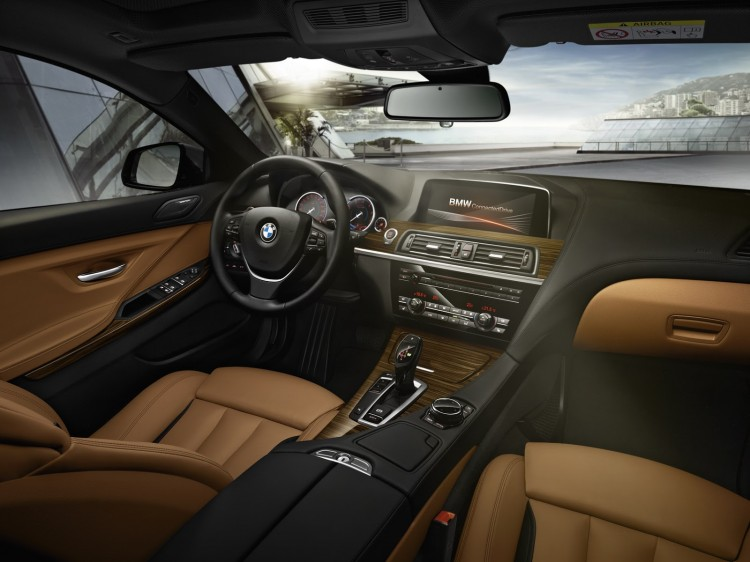 interieur BMW Serie 6 Gran Coupe restylee