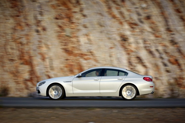 profil BMW Serie 6 Gran Coupe restylee