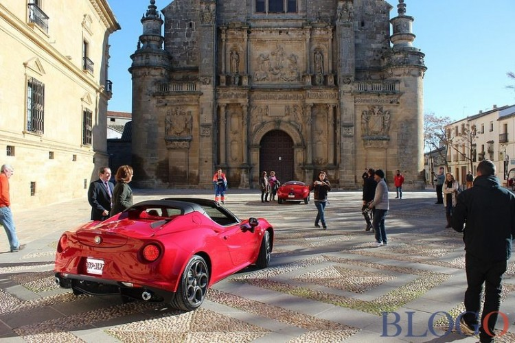 shooting 4C cabriolet
