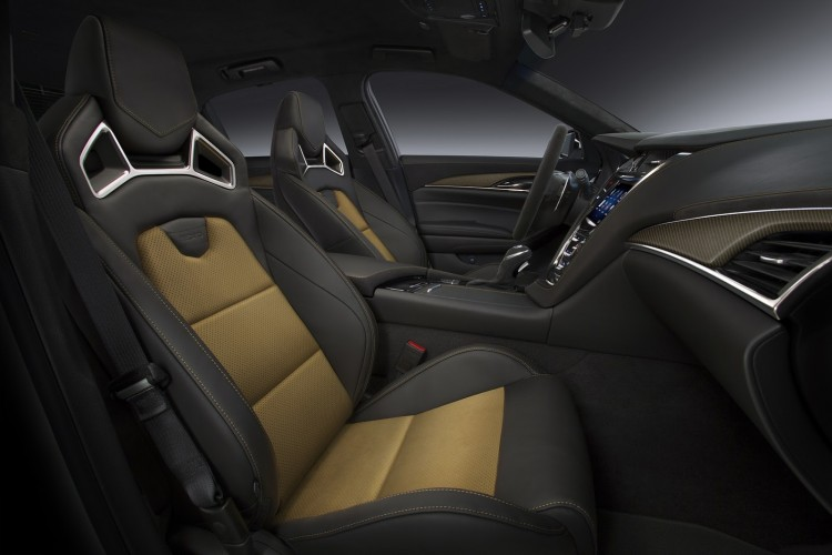 sieges Cadillac CTS-V