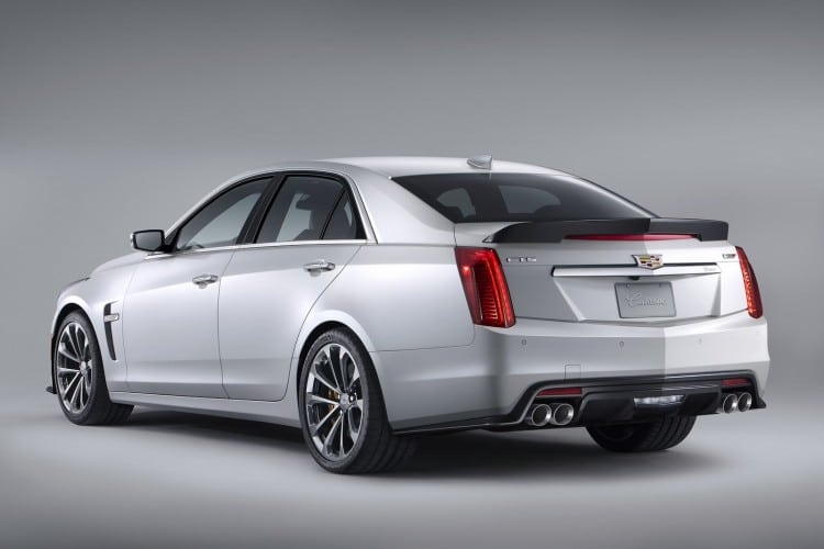vue 3-4 arriere Cadillac CTS-V