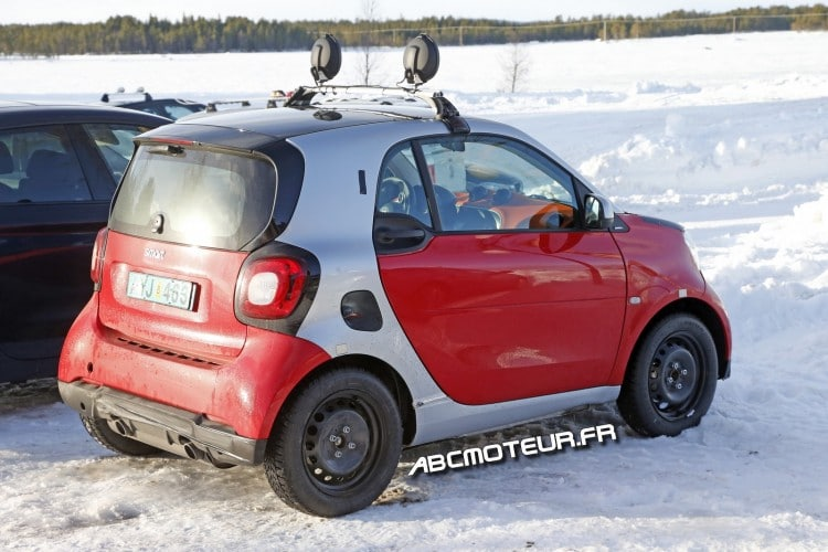 vue 3-4 arriere Smart ForTwo Brabus 2015