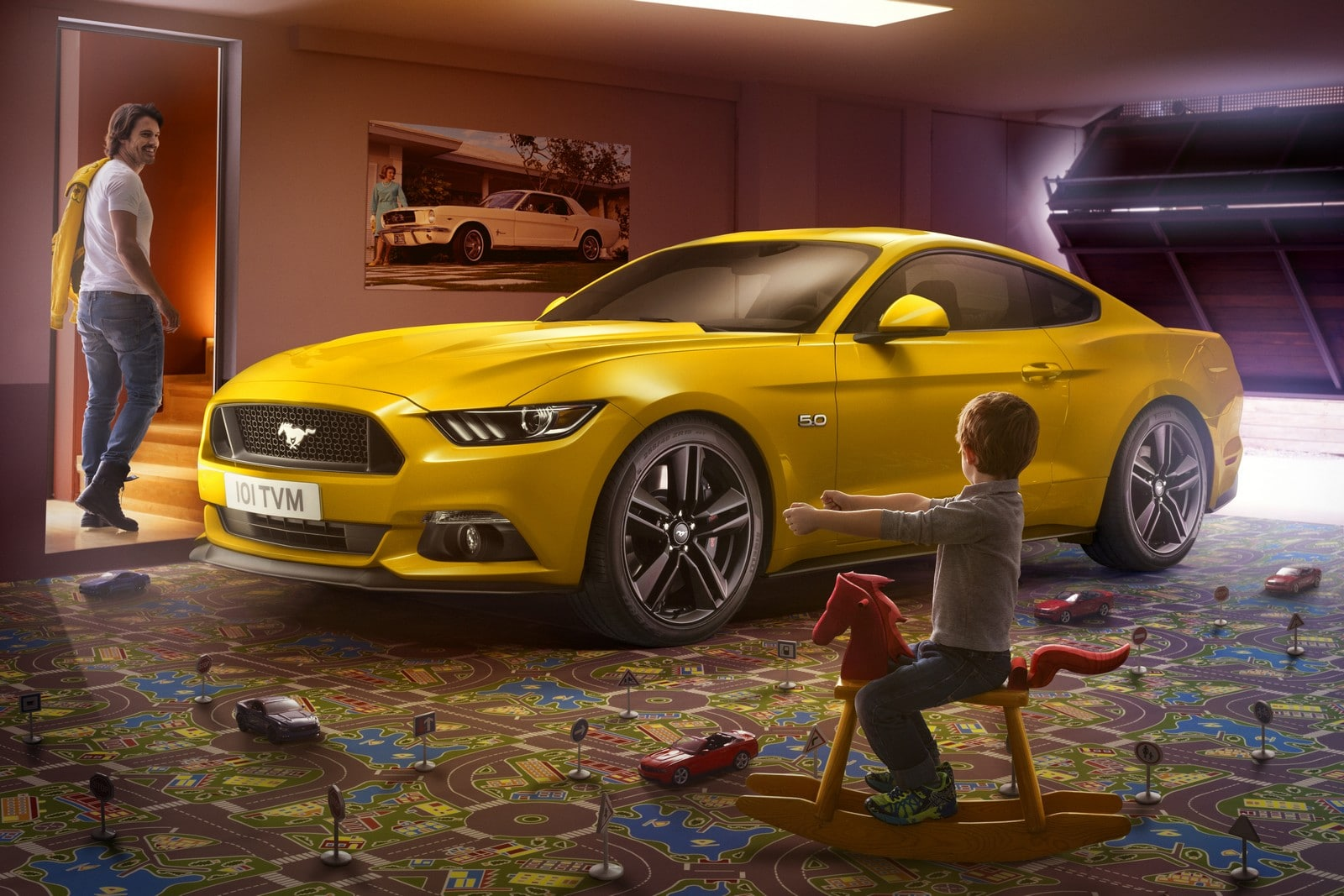 ford mustang 2015 le v8 moins de 50 000. Black Bedroom Furniture Sets. Home Design Ideas