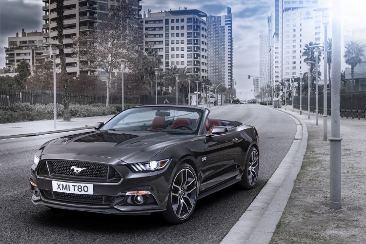 Ford Mustang Cabriolet 2015