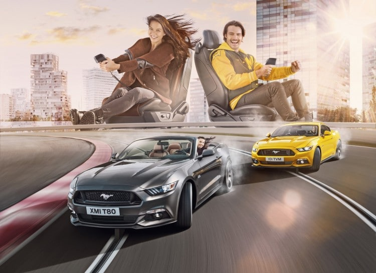 Ford Mustang Fastback VS Cabriolet 2015