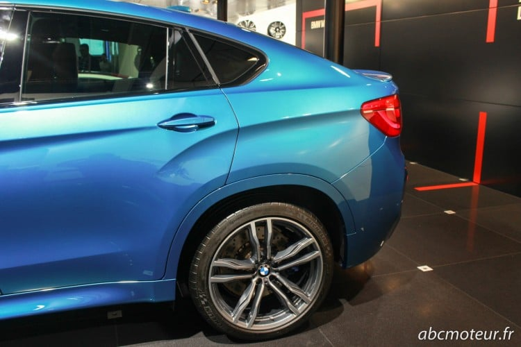 aile arriere BMW X6 M