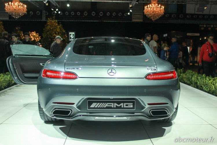 arriere Mercesdes-AMG GT S
