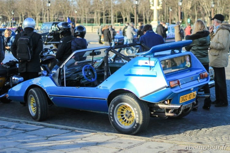 buggy Traversee Paris hivernale 2015