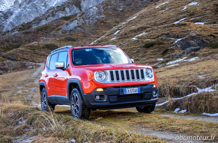 essai Jeep Renegade Multijet 140 4x4 Limited