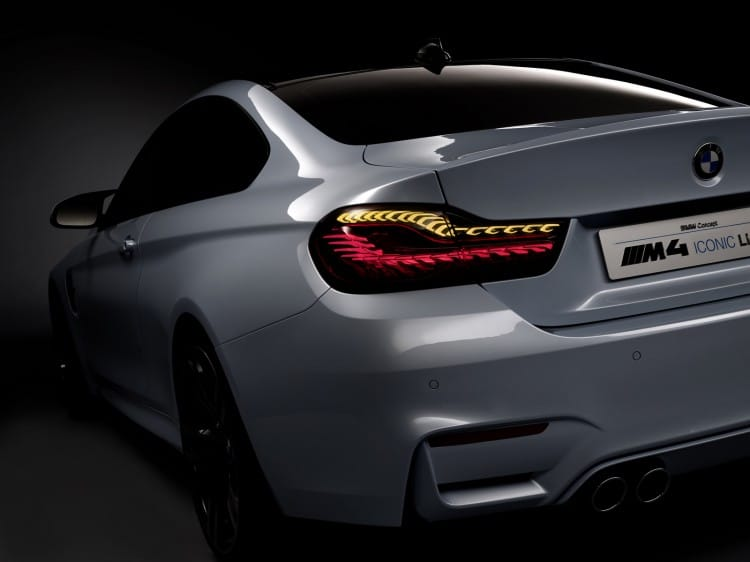 feu arriere oled BMW-M4-Concept-Iconic-Lights
