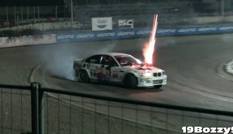 feu artifice drift M3 E46