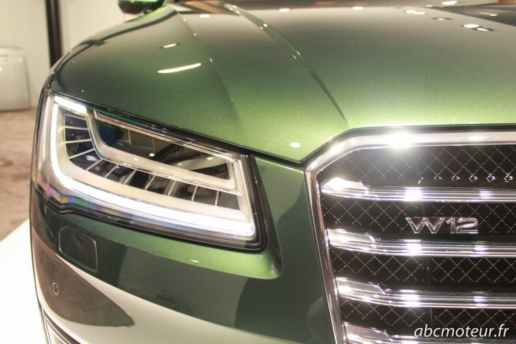 phare Audi A8 L W12 Exclusive