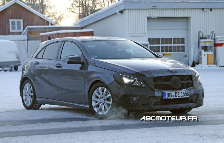 restylage Mercedes Classe A
