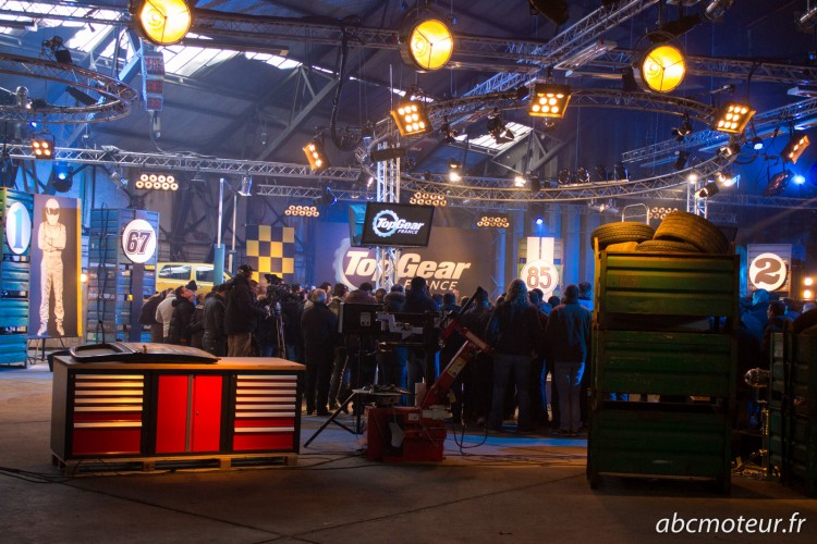 tournage Top Gear France