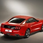 vue 3-4 arriere Ford Mustang 2015