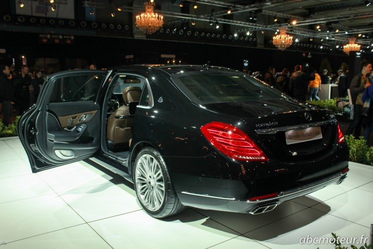 vue 3-4 arriere Mercedes-Maybach Classe S