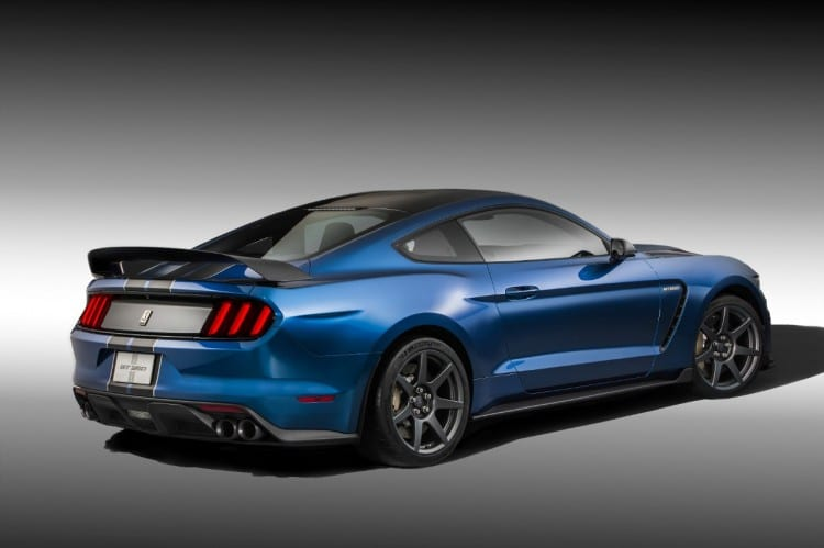 vue 3-4 arriere Shelby-GT350R
