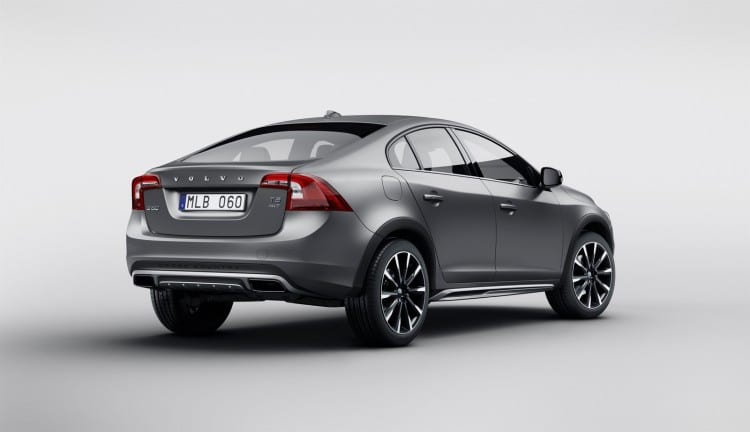 vue 3-4 arriere Volvo S60 Cross Country