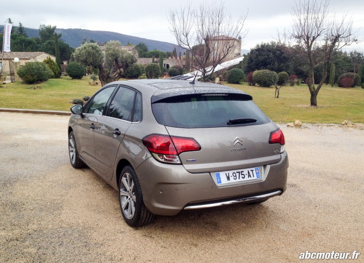Citroen C4 restylee-marron