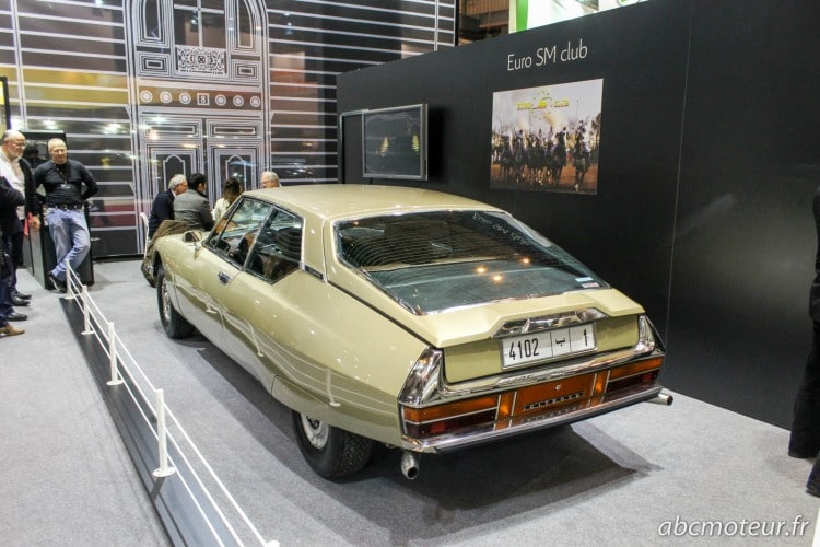 arriere Citroen SM Retromobile 2015
