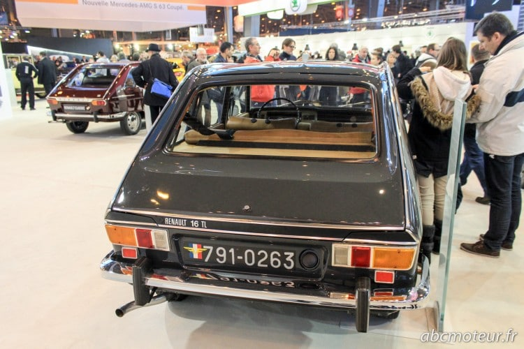 arriere Renault 16 TL