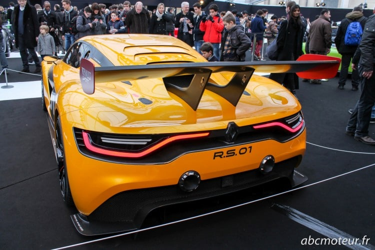 arriere Renault RS 01