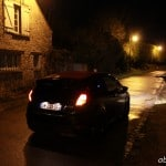 arriere nuit Ford Fiesta Black Edition