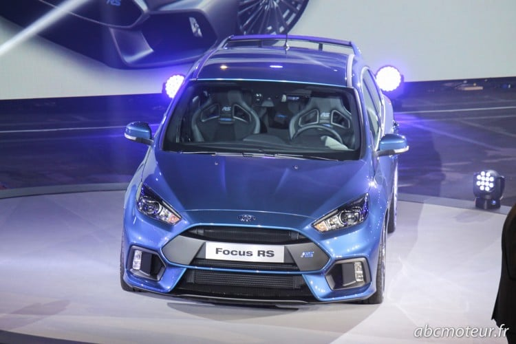 avant Ford Focus RS 3