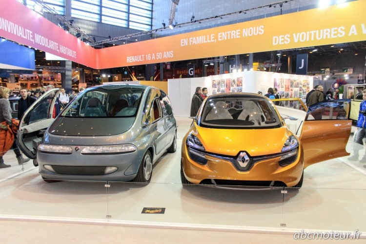 concepts Renault Scenic R-Space