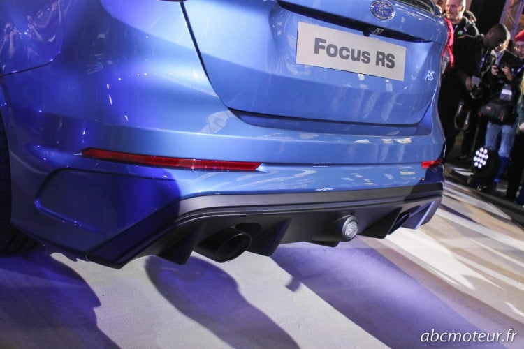 diffuseur Ford Focus RS 3