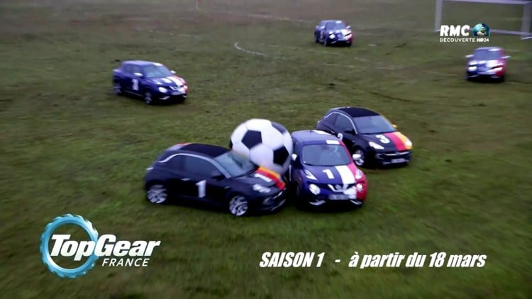football automobile Top Gear France