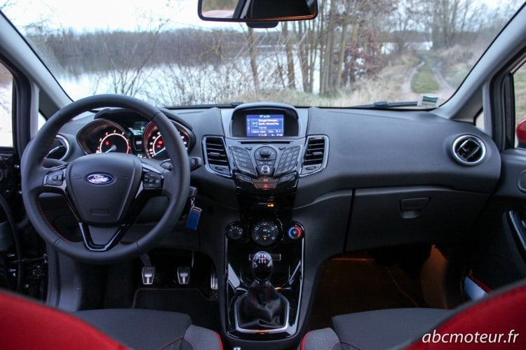 interieur Ford Fiesta Black Edition