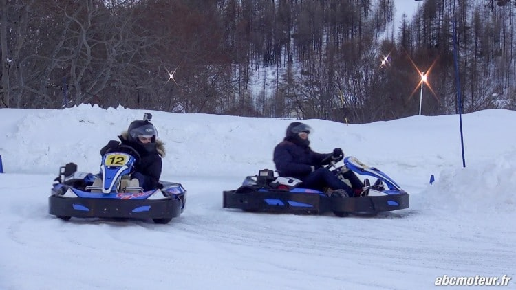 kartings circuit glace