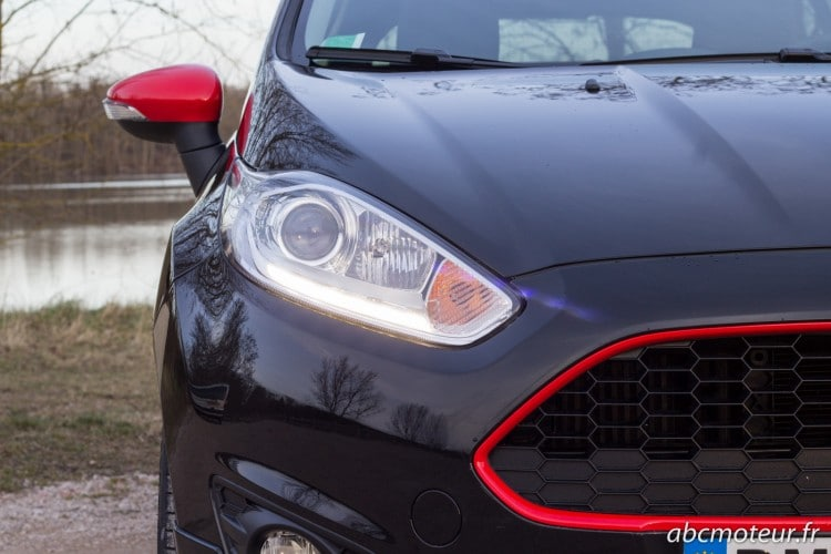 optique Ford Fiesta Black Edition