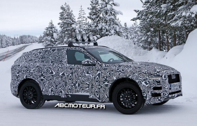 photo espion Jaguar F-Pace