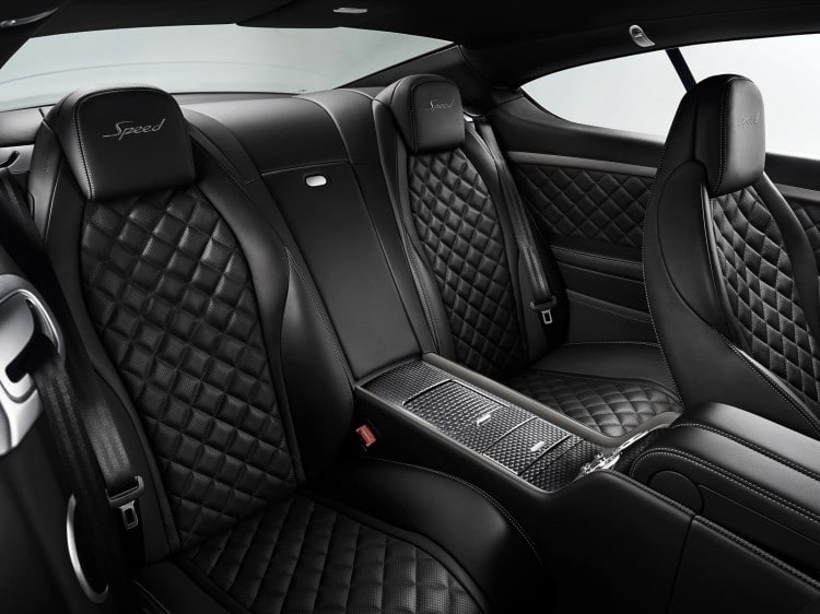 places arriere Bentley-Continental-GT-Speed