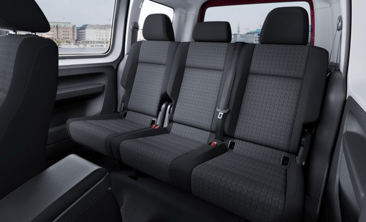 places arriere Volkswagen Caddy 2015